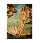 Softcover kunst schetsboek ,  Botticelli, Geboorte van Venus