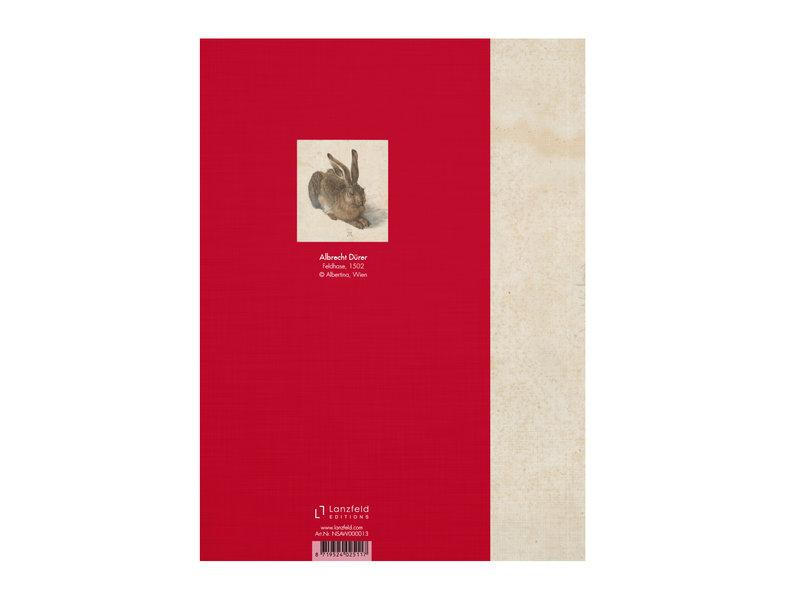 Softcover kunst schetsboek, Dürer, Haas