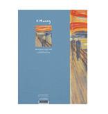 Softcover kunst schetsboek, Munch, de schreeuw