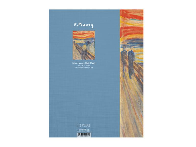 Softcover art sketchbook, Munch, The scream