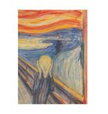 Softcover Kunst Skizzenbuch, Munch, Der Schrei