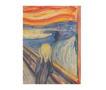 Cahier d'artiste, Munch, Le cri