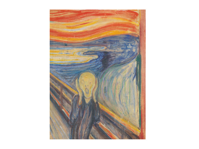 Carnet de croquis à couverture souple, Munch, Le cri