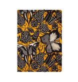 Carpeta archivadora de papel con cierre elástico, Séguy, flores con mariposas