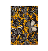 Paper file folder with elastic closure, Séguy , Flowers with butterflies
