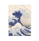 Map met elastische sluiting, A4, Hokusai, De grote golf