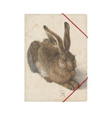 Paper file folder with elastic closure, Dürer, Hare