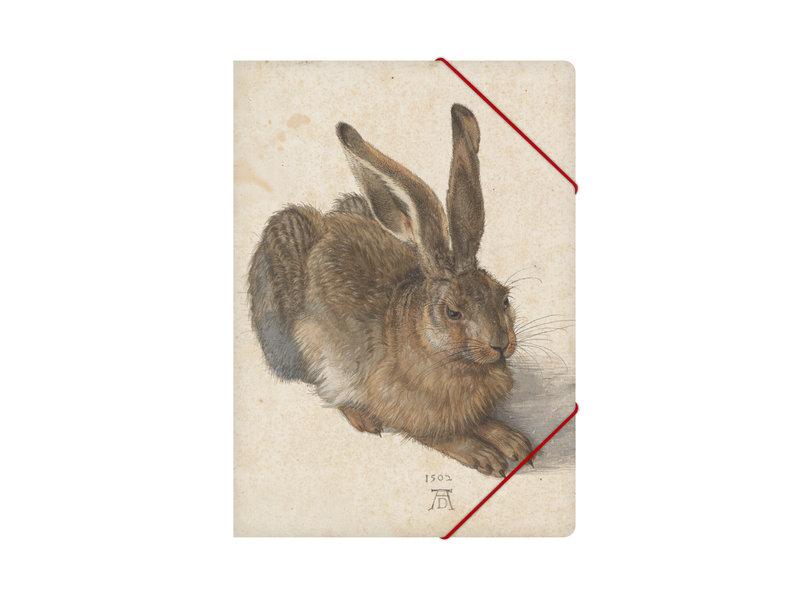 Carpeta archivadora de papel con cierre elástico, Dürer, Liebre