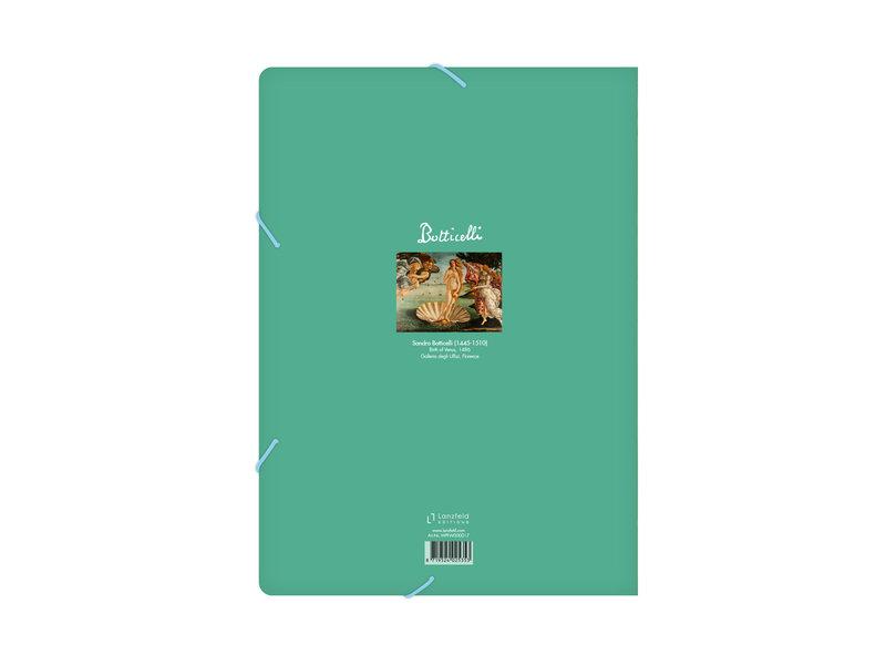 Aktenordner mit elastischem Verschluss, A4, Botticelli, Geburt der Venus