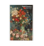 Postkaart met zaadjes, Vaas met bloemen, Van Gogh