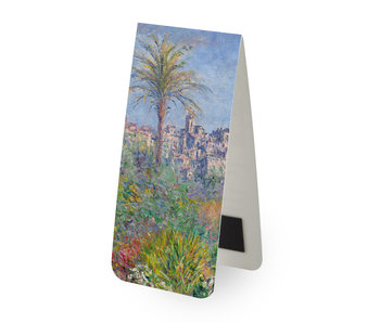 Magnetic Bookmark,  Monet: Villas at Bordighera