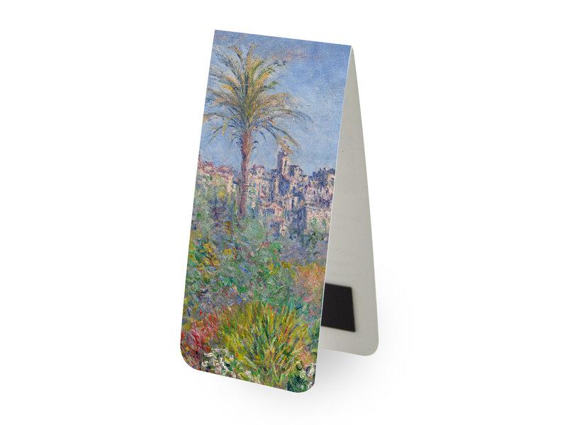 Magnetische boekenlegger, Monet: Villas in Bordighera