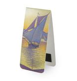 Magnetisches Lesezeichen,  Paul Signac, Der Hafen bei Sonnenuntergang