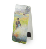 Magnetic Bookmark,  Camille Pissarro,  Peasant girl making a fire