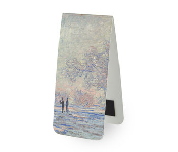 Magnetic Bookmark,  Monet: Frost at Giverny