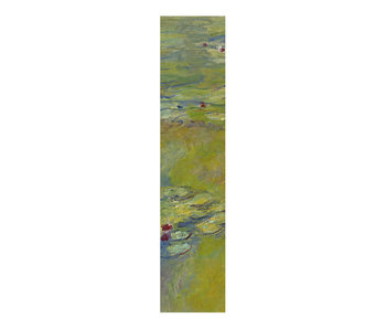 Classical bookmark, Claude Monet, The water lily pond