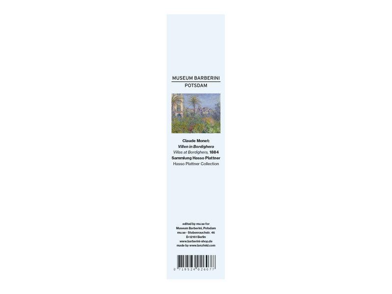 Marcador clásico,  Claude Monet, Villas in Bordighera