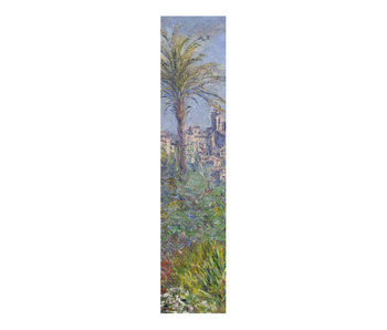 Classical bookmark, Claude Monet, Villas in Bordighera