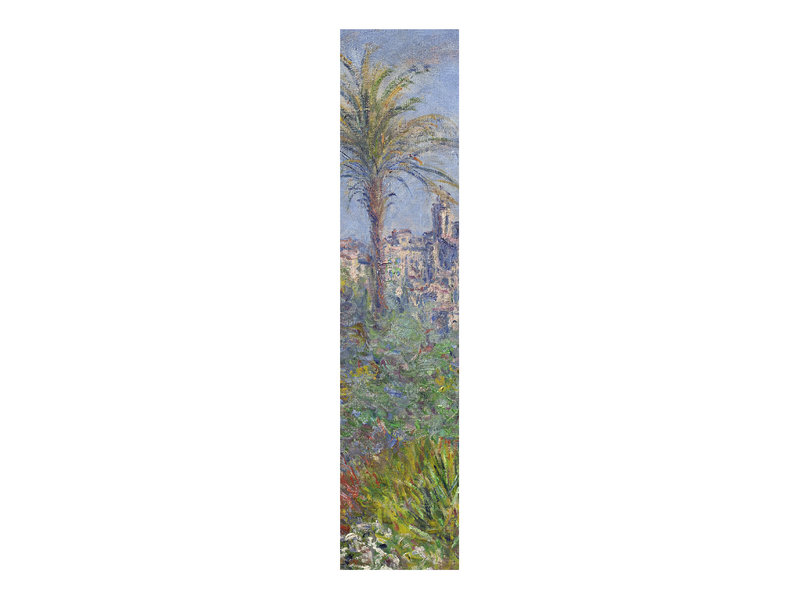 Classical bookmark,  Claude Monet, Villas in Bordighera