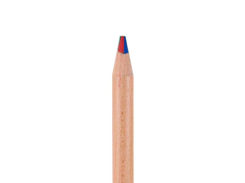 Multi-kleur potlood - hout