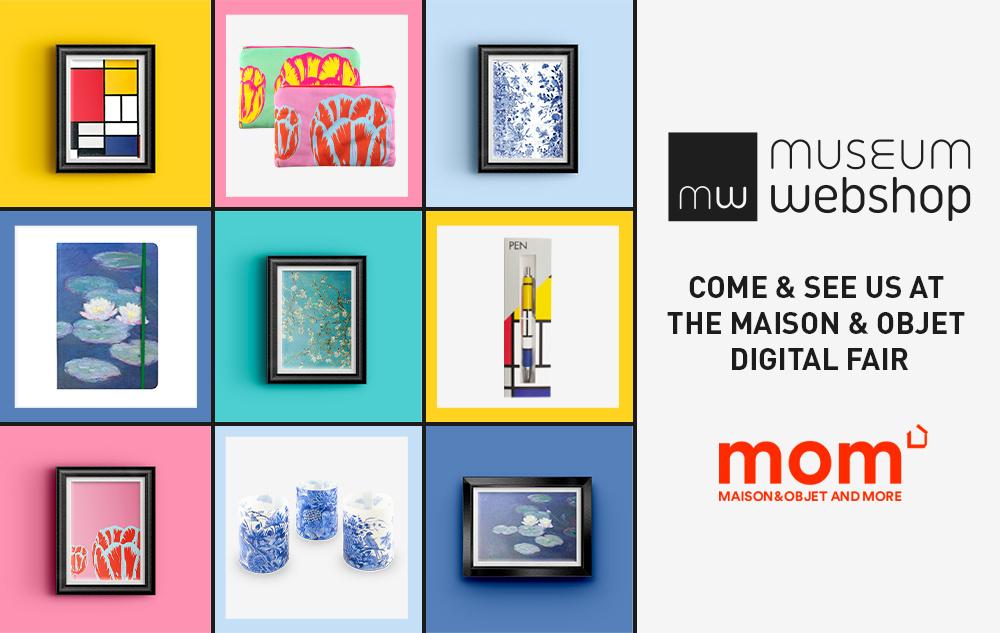 De Museumwebshop op de Maison et Objets-Digital Fair