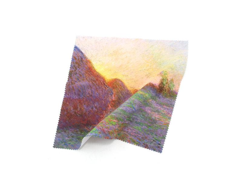Chiffon de nettoyage pour lunettes, Claude Monet, tas de céréales
