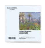 Chiffon de nettoyage pour lunettes, Claude Monet,  Villas à Bordighera