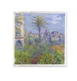 Brillendoekje,  18x18 cm, Claude Monet, Villas in Bordighera
