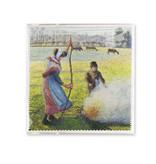 Brillenputztuch, 18x18 cm, Pisarro, Hoar-Frost