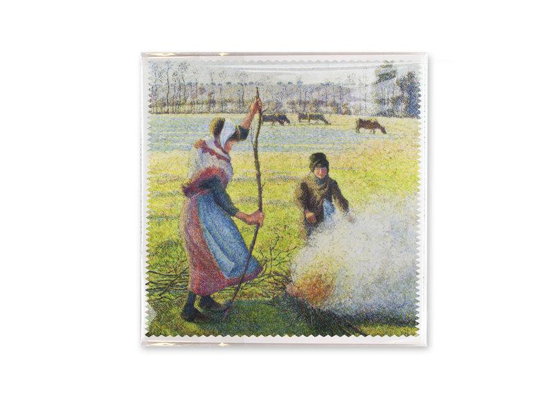 Linsentuch, 18x18 cm, Pisarro, Hoar-Frost