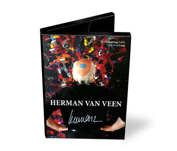 Card wallet, Herman van Veen, 10 double cards