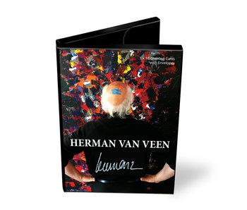 Kartenmappe, Herman van Veen, 10 Doppelkarten