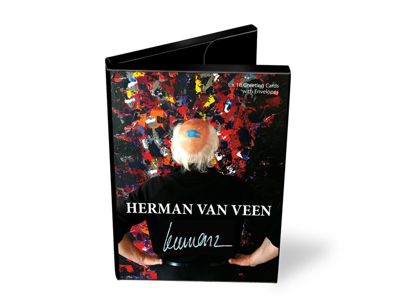 Kaartenmapje , Herman van Veen, 10 dubbele kaarten