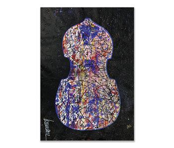 Tarjeta doble, Herman van Veen, primer violín. 2019