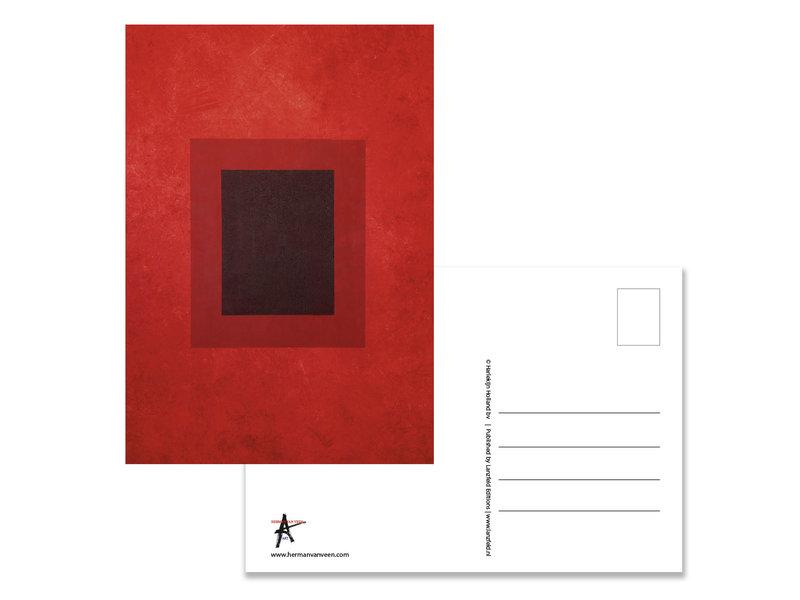 Ansichtkaart  Herman van Veen, Rood. 2011