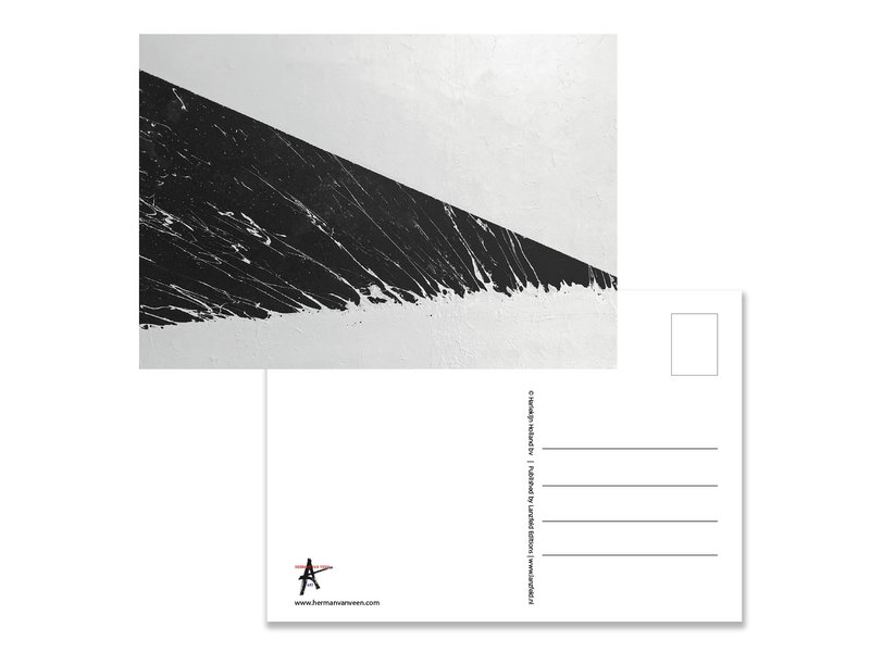 Ansichtkaart  , Herman van Veen, Vloedlijn 2018