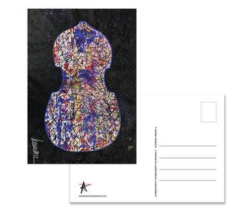 Carte postale, Herman van Veen, premier violon. 2019