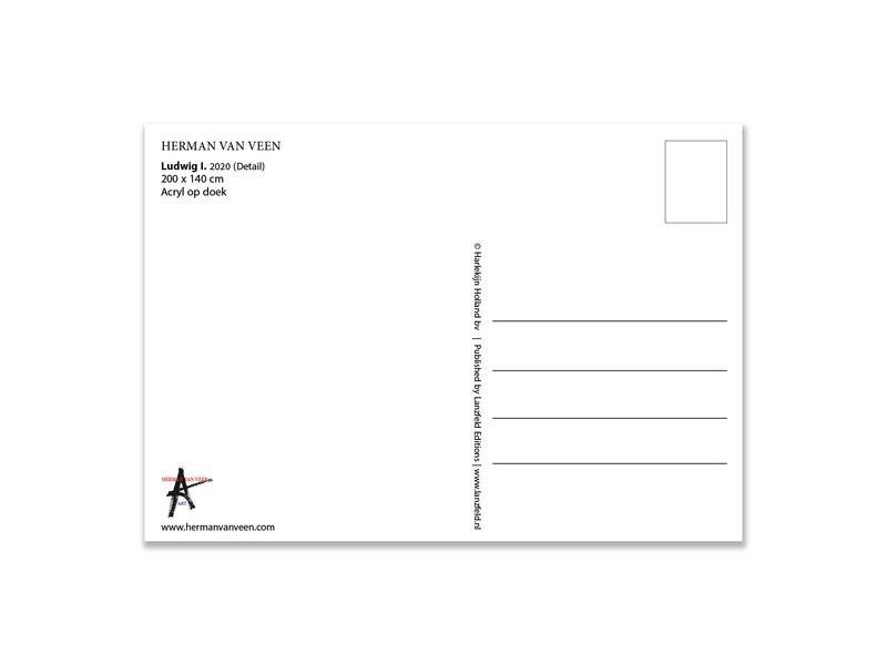Postkarte, Herman van Veen,Ludwig I. 2020