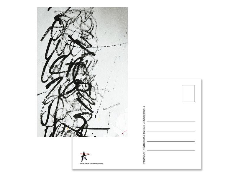 Postkarte, Herman van Veen,Signatuur III. 2020