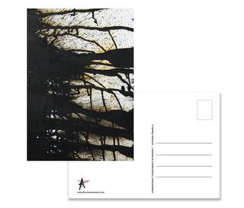 Postkarte, Herman van Veen,Handschrift I. 2020