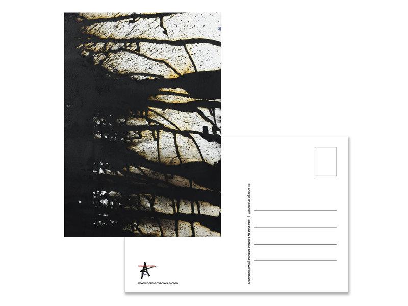 Postkarte, Herman van Veen, Handschrift I. 2020