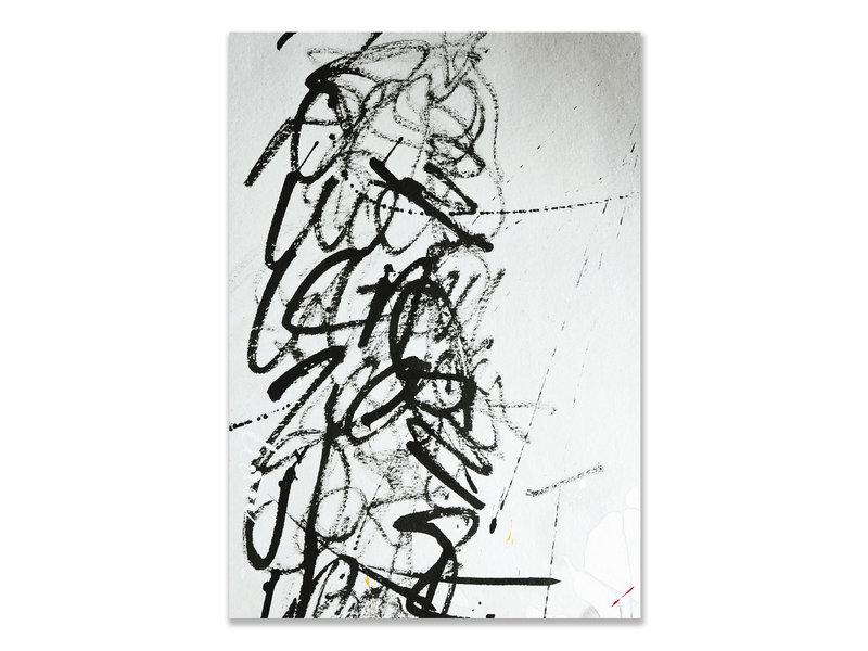 Tarjeta doble, Herman van Veen , Signatuur III. 2020