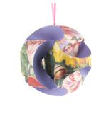 DIY Paper Christmas Ball, Flower still life Henstenburgh