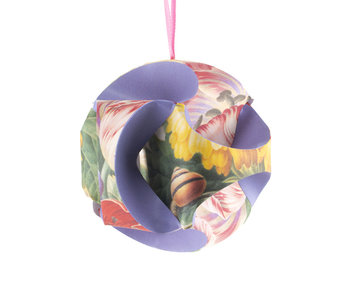 DIY Paper Christmas Ball , Flower still life Henstenburgh