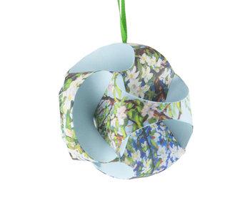 DIY Paper Christmas Ball ,  Toorop, blossom