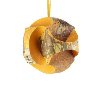 DIY Paper Christmas Ball , Klimt