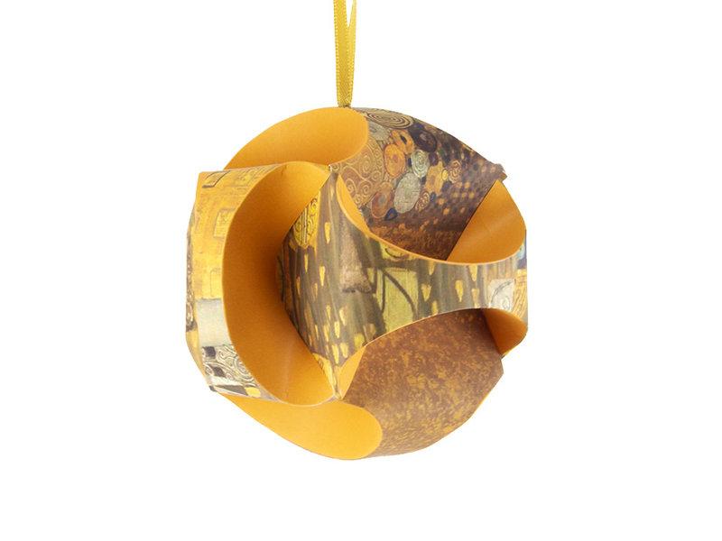 Fais le toi-même: boule de Noël , Klimt