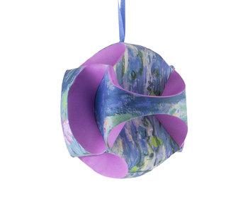 Mach es selbst: Weihnachtskugel Monet, Wasserlilien
