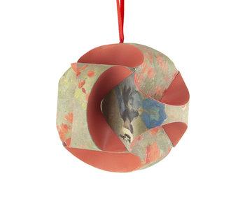 Fais le toi-même: boule de Noël , Monet, champ de coquelicots