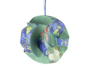 Mach es selbst: Weihnachtskugel Van Gogh, Iris